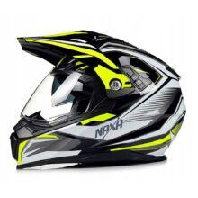 Naxa CO3-I Cross Bukósisak Felnyitható plexivel és Napszemüveggel