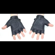 Bőrkesztyű (Fekete)