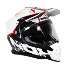 NOX N312 Crow Cross Bukósisak Felnyitható plexivel és Napszemüveggel