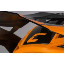 Cassida Pro II Contra Üvegszálas Cross Bukósisak (Narancssárga - Fekete - Szürke)