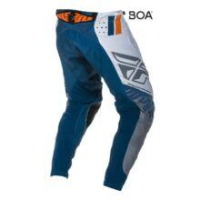 Fly Racing - Evo motoros nadrág (Fehér - kék)