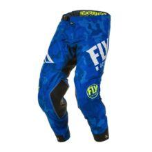 Fly Racing - Evolution motoros nadrág (Kék - fehér)