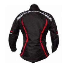 Roleff - Zelina motoros kabát (Fekete - piros)