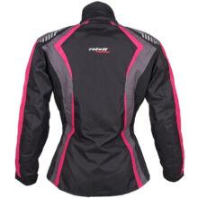 Roleff - Estretta motoros kabát (Fekete - rózsaszín)