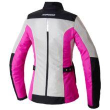 Spidi - Solar Net Lady motoros kabát (Fehér - rózsaszín)