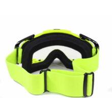 FTM-003 Cross szemüveg Átlátszó plexivel (Sárga)