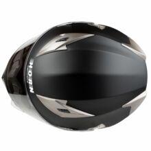 Horn H829S Matt Fekete Zárt Bukósisak