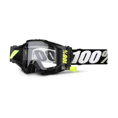 100% - Accuri Forecast Junior Szemüveg - Átlátszó plexivel