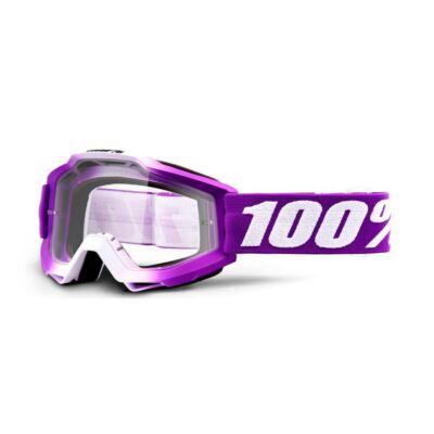 100% - Accuri Framboise Junior Cross Szemüveg - Átlátszó plexivel