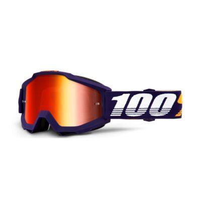 100% - Accuri Grib Szemüveg - Tükrös plexivel