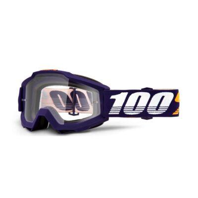 100% - Accuri Grib Cross Szemüveg - Átlátszó plexivel