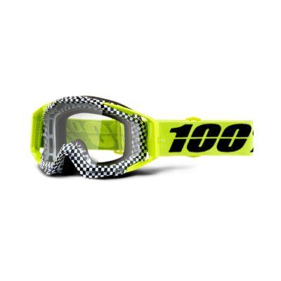 100% - Racecraft Andre Cross Szemüveg - Átlátszó plexivel