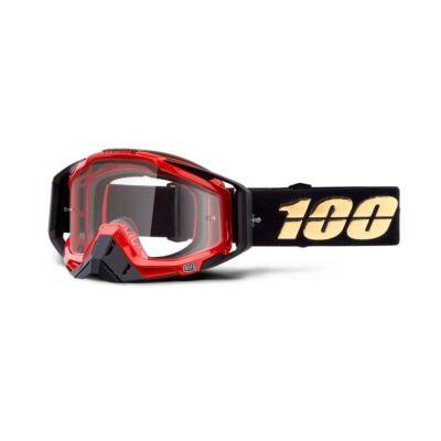 100% - Racecraft Hot Rod Szemüveg - Átlátszó plexivel