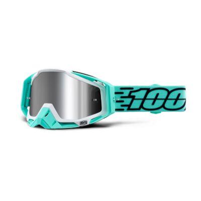 100% - Racecraft Plus Fasto Szemüveg - Tükrös plexivel