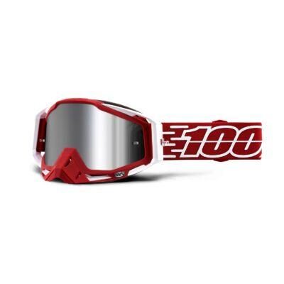 100% - Racecraft Plus Gustavia Szemüveg - Tükrös plexivel