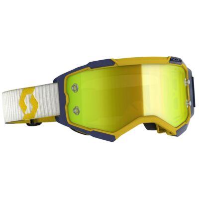 Scott - Fury (Sárga - kék, sárga króm plexi)