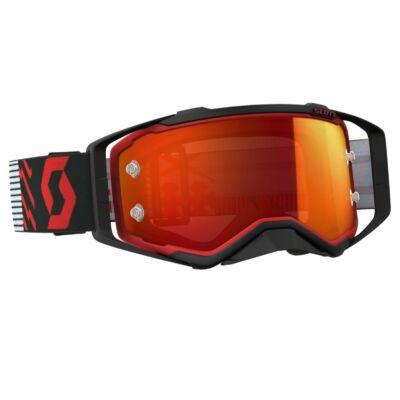 Scott - Prospect (Piros - fekete, narancs króm plexi)
