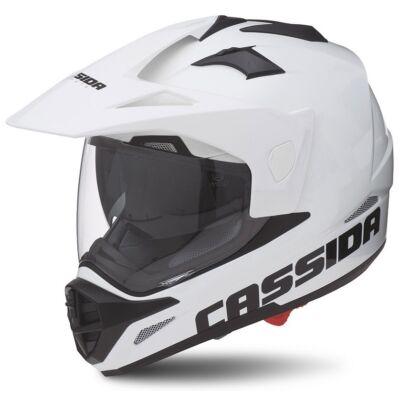 Cassida Tour Cross Bukósisak Felnyitható plexivel és Napszemüveggel