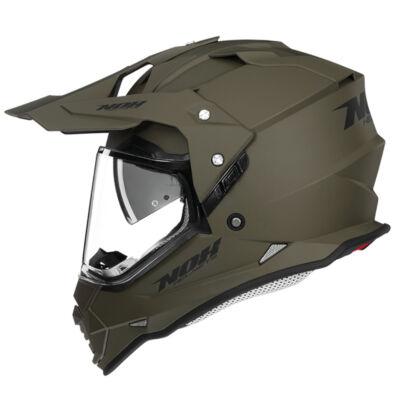 NOX N312 Crow Cross Bukósisak Felnyitható plexivel és Napszemüveggel + Ajándék maszk