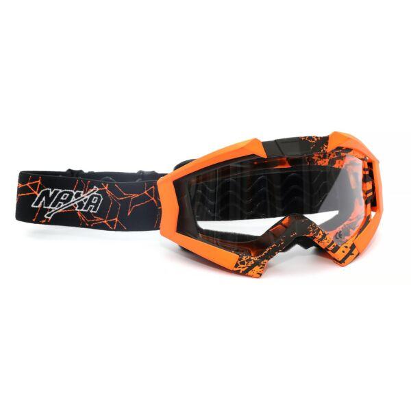Naxa G3-J Cross Szemüveg (Narancssárga - Fekete)