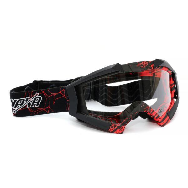 Naxa G3-C Cross Szemüveg (Fekete - Piros)