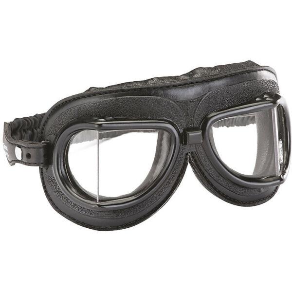 Climax - Vintage 513 Szemüveg (Fekete-króm) - Átlátszó plexivel