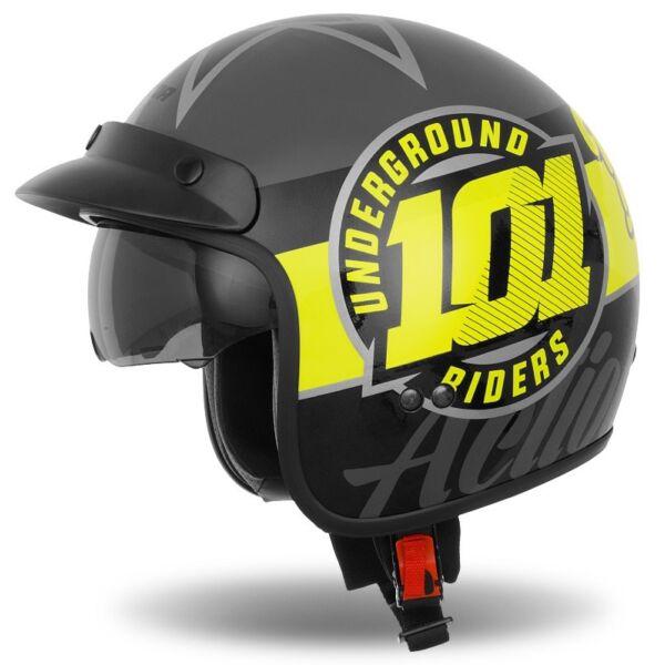 Cassida Oxygen 101 Riders Nyitott Bukósisak Napszemüveggel