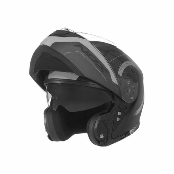Nox N965 Peak Felnyitható Bukósisak Napszemüveggel + Ajándék Pinlock lencse