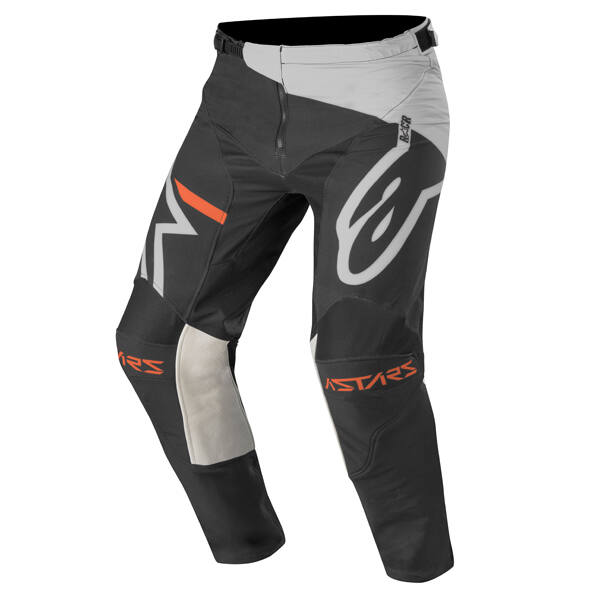 Alpinestars - Racer Tech Compass Junior motoros nadrág (Szürke - fekete)