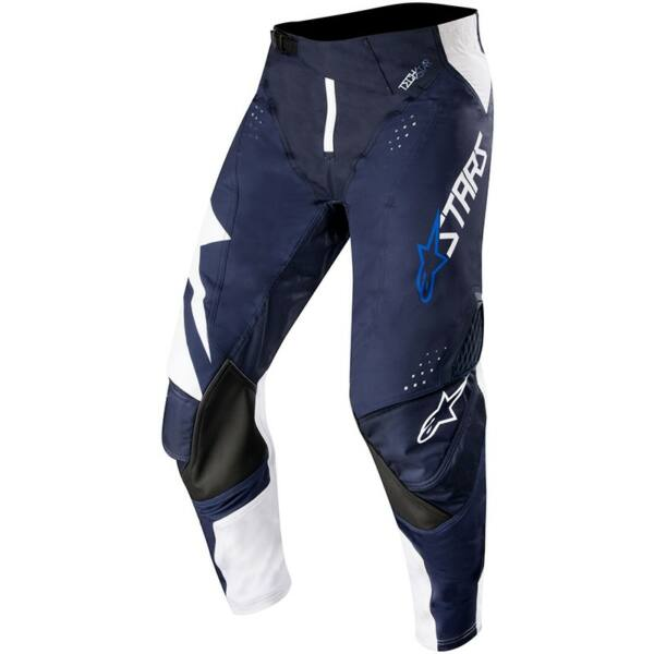 Alpinestars - Techstar Factory motoros nadrág (Kék - fehér)