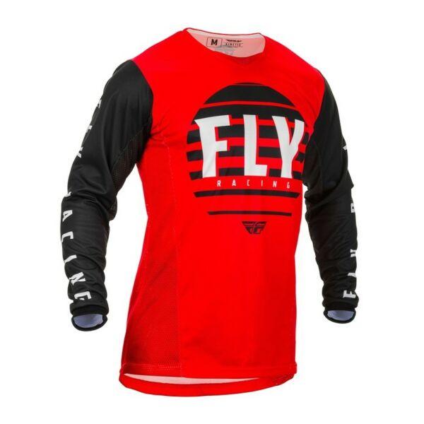 Fly Racing - Kinetic K220 mez (Piros - fekete - fehér)