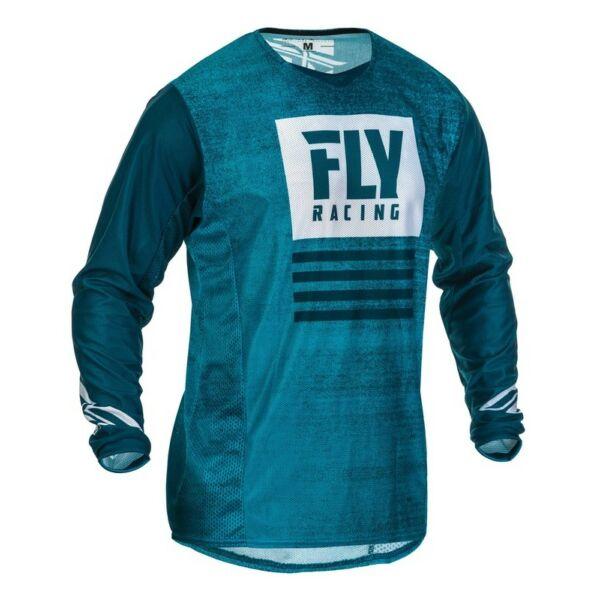 Fly Racing - Kinetic Mesh motoros mez (Kék)