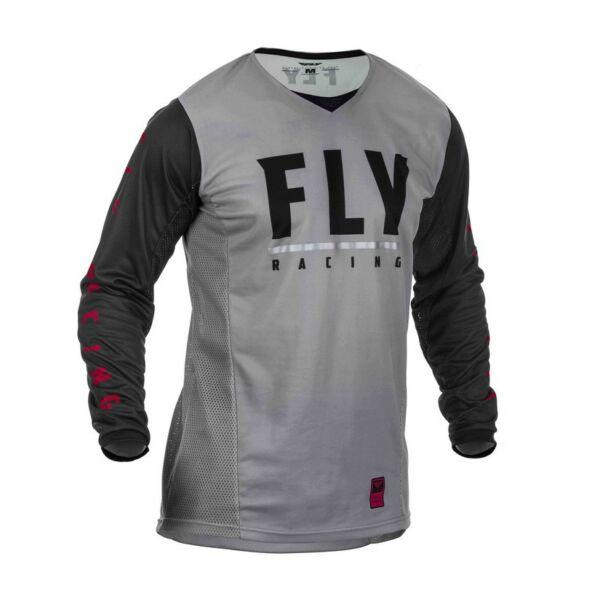Fly Racing - Patrol motoros mez (Szürke - fekete)