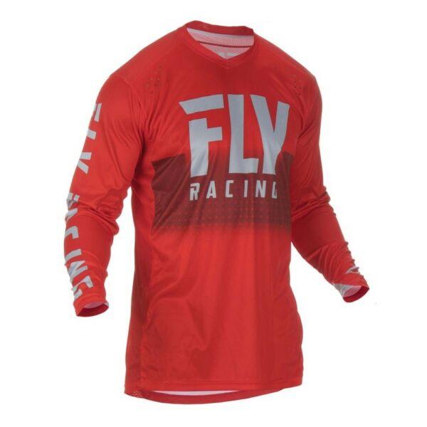 Fly Racing - Lite Jersey motoros mez (Piros - szürke)