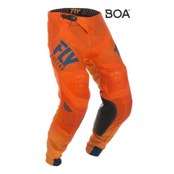 Fly Racing - Lite motoros nadrág (Narancs - kék)