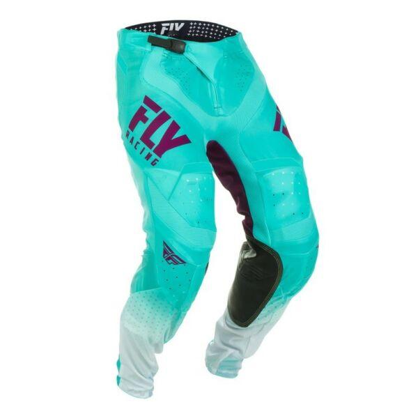 Fly Racing - Lite motoros nadrág (Kék - fehér)