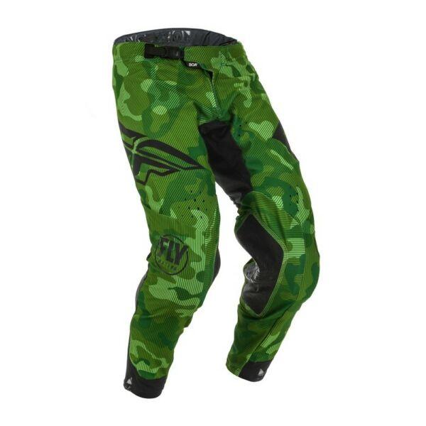 Fly Racing - Evolution motoros nadrág (Zöld - fekete)