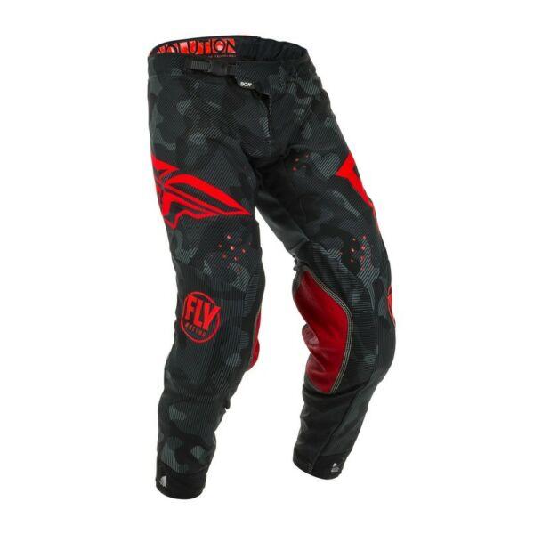 Fly Racing - Evolution motoros nadrág (Fekete - piros)