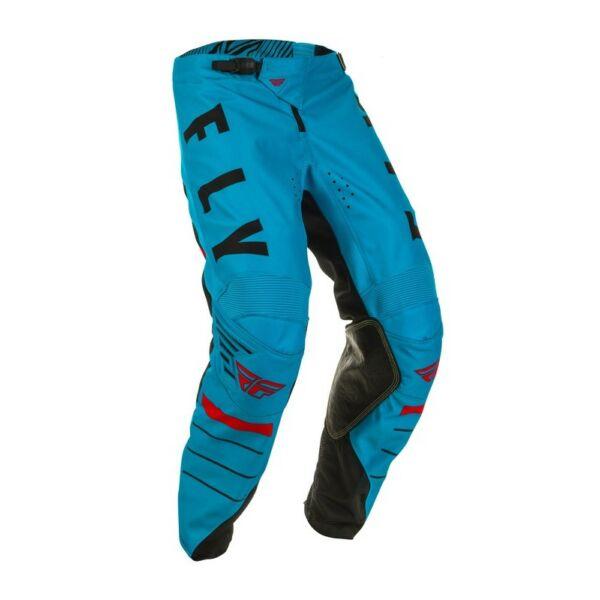 Fly Racing - Kinetic K120 motoros nadrág (Kék - fekete)