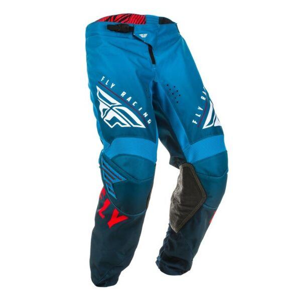 Fly Racing - Kinetic K220 motoros nadrág (Kék - piros)
