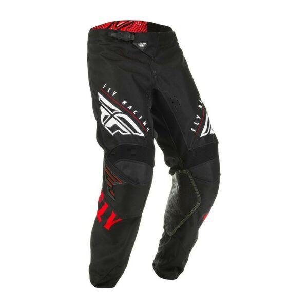 Fly Racing - Kinetic K220 motoros nadrág (Fekete - piros)
