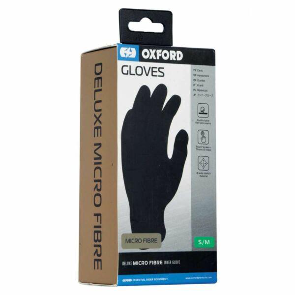 Oxford - Micro Fiber kesztyű betét (Fekete)