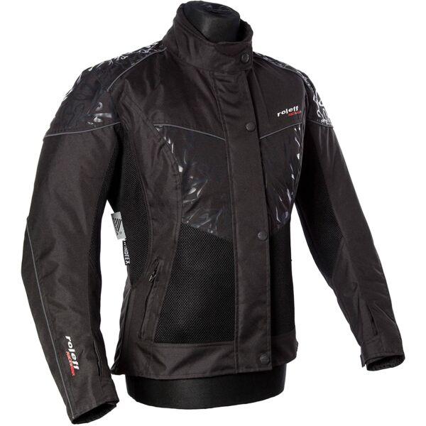 Roleff - Messina motoros kabát (Fekete)
