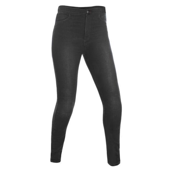 Oxford - Jeggings motoros nadrág (Fekete, rövid)